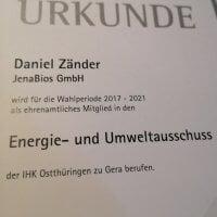 IHK-Ehrenamt übernommen
